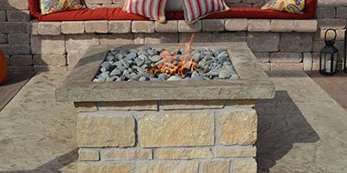 Fire Feature from Terrill Landscape